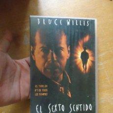 Cine: VHS - EL SEXTO SENTIDO BRUCE WILLIS . Lote 57700204