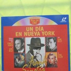 Cinema: UN DIA EN NUEVA YORK - LASER DISC - LASERDISC - WIDESCREEN. Lote 57809019