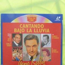 Cine: CANTANDO BAJO LA LLUVIA - GENE KELLY - WIDESCREEN - LASER DISC. Lote 57809356