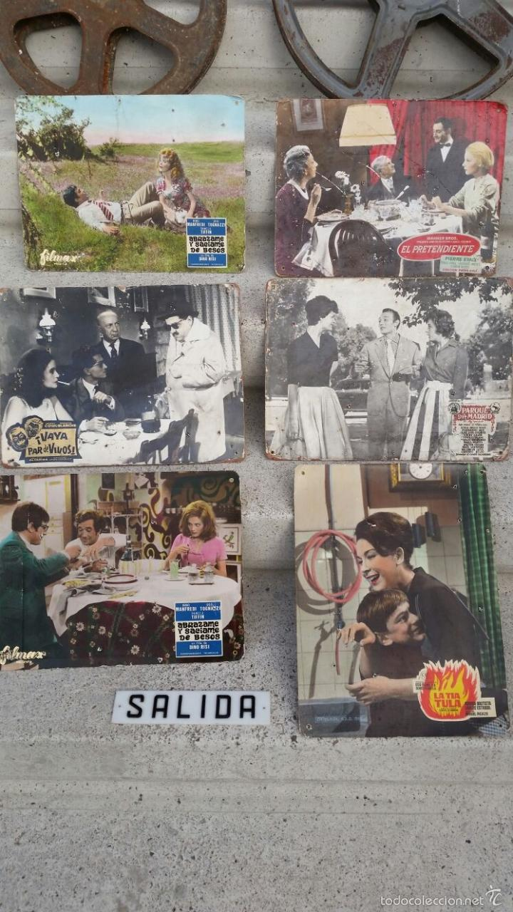 Cine: CARTELES DE PELICULAS Y ANTIGUOS CARRETES CON PELICULAS ANTIGUAS.AÑOS 50-60 APROX - Foto 5 - 57931698