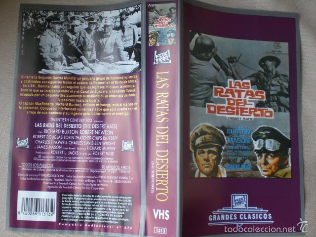 Cine: lote carátulas VHS bélicas clásicas - Foto 2 - 58643187