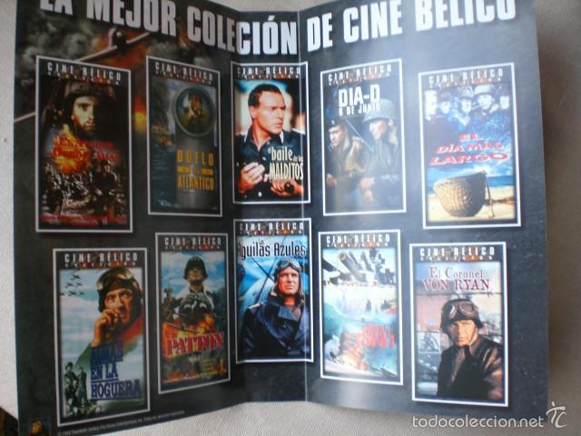 Cine: lote carátulas VHS bélicas clásicas - Foto 4 - 58643187