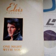 Cine: ELVIS PRESLEY - ONE NIGHT WITH YOU, LASERDISC VG+. Lote 59122535