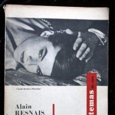 Cine: TEMAS DE CINE Nº 18 Y 19 - ALAIN RESNAIS EL CINEASTA DE LA MEMORIA. Lote 147676990