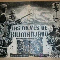Cine: GUIA PROGRAMACION 20TH CENTURY FOX 1953. Lote 60239723