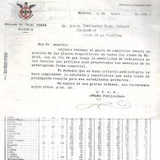 Cine: CINE. TARIFA DE PRECIOS DE PLACAS DIAPOSITIVAS. PUBLICIDAD FRANA. EN TODOS LOS CINES DE MADRID. 1944. Lote 60492351