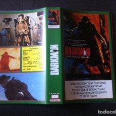 Cine: CARATULA VIDEO VHS - DARKMAN DE SAM RAIMI. Lote 61436051
