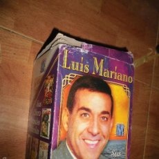 Cine: LUIS MARIANO VHS CINTAS COLECCION COMPLETA 5 PELICULAS ANTIGUAS EN SU CAJA. Lote 55798412