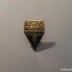 Cine: RKO RADIO FILMS. GEMELOS EN PLATA CON CONTRASTE. ORIGINALES. AÑOS 1930S. MASRIERA JOYERO. BARCELONA. Lote 62089504