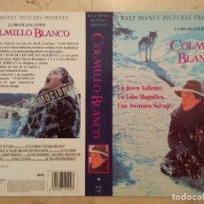 Cine: CARATULA ORIGINAL - A4 - COLMILLO BLANCO - WALT DISNEY. Lote 62101116