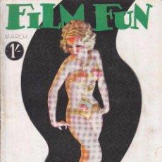 Cine: FILM FUN - MARZO 1934. Lote 62349080