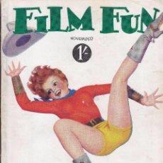 Cine: FILM FUN - NOVIEMBRE 1932. Lote 62349372