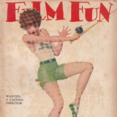 Cine: FILM FUN - OCTUBRE 1927. Lote 62349416