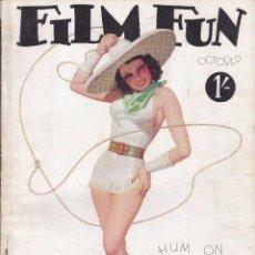 Cine: FILM FUN - OCTUBRE 1934. Lote 62349444