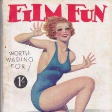 Cine: FILM FUN - SEPTIEMBRE 1933. Lote 62349468