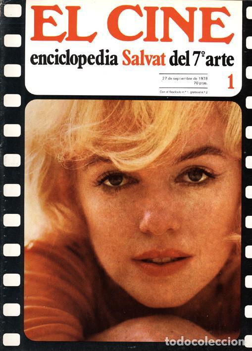 6 FASCÍCULOS EL CINE ENCICLOPEDIA SALVAT DEL 7º ARTE (Cine - Varios)