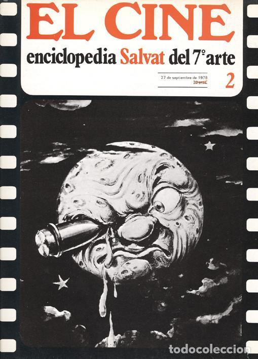Cine: 6 fascículos El Cine Enciclopedia Salvat del 7º Arte - Foto 2 - 62372848