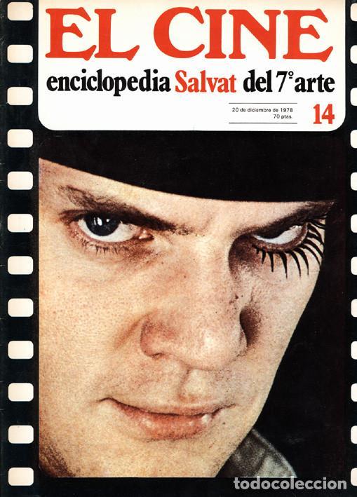 Cine: 6 fascículos El Cine Enciclopedia Salvat del 7º Arte - Foto 9 - 62372848