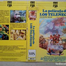 Cine: CARATULA ORIGINAL - A4 - LA PELICULA DE LOS TELEÑECOS - DIBUJOS ANIMADOS. Lote 62788164