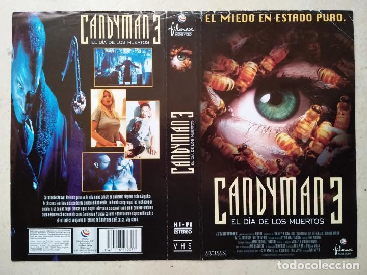 Caratula Original A4 Candyman 3 Terror Comprar En
