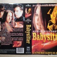 Cine: CARATULA ORIGINAL -A4- BABYSITTER - ALBUM - ALICIA SILVERSTONE. Lote 67212177