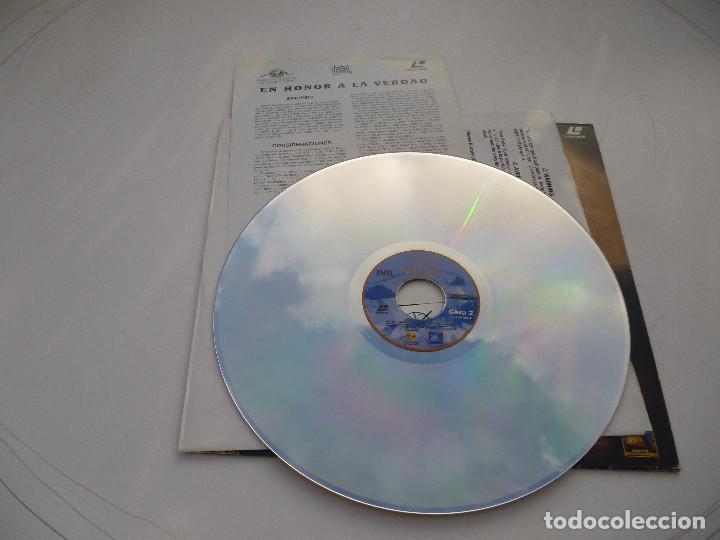 Cine: LASER DISC EN HONOR A LA VERDAD, con Denzel Washington y Meg Ryan. Guerra del Golfo. Laserdisc - Foto 4 - 67330193