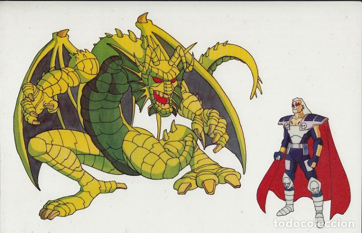 MARVEL ACTION HOUR - PROMOTIONAL ANIMATION CELL - FIN FANG FOOM (20TH CENTURY FOX,1994) - KIRBY (Cine - Varios)