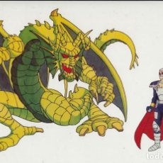 Cine: MARVEL ACTION HOUR - PROMOTIONAL ANIMATION CELL - FIN FANG FOOM (20TH CENTURY FOX,1994) - KIRBY. Lote 67687653