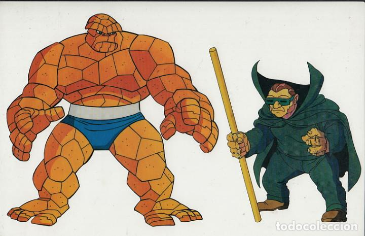 MARVEL ACTION HOUR - PROMOTIONAL ANIMATION CELL - 4F - COSA - TOPO (20TH CENTURY FOX,1994) (Cine - Varios)