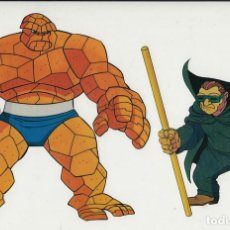 Cine: MARVEL ACTION HOUR - PROMOTIONAL ANIMATION CELL - 4F - COSA - TOPO (20TH CENTURY FOX,1994). Lote 67687785