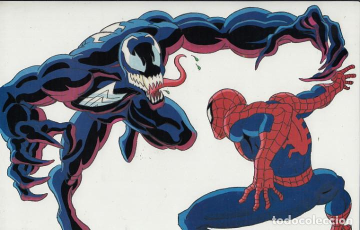 MARVEL ACTION HOUR - PROMOTIONAL ANIMATION CELL - SPIDERMAN - VENOM (20TH CENTURY FOX,1994) (Cine - Varios)