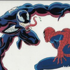 Cine: MARVEL ACTION HOUR - PROMOTIONAL ANIMATION CELL - SPIDERMAN - VENOM (20TH CENTURY FOX,1994). Lote 67687837
