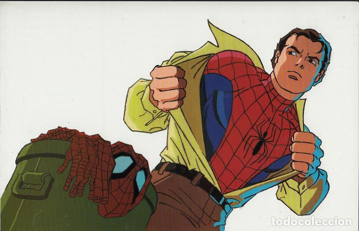 MARVEL ACTION HOUR - PROMOTIONAL ANIMATION CELL - SPIDERMAN - PETER PARKER (20TH CENTURY FOX,1994) (Cine - Varios)