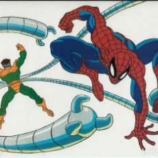 Cine: MARVEL ACTION HOUR - PROMOTIONAL ANIMATION CELL - SPIDERMAN - OCTOPUS (20TH CENTURY FOX,1994). Lote 67688013