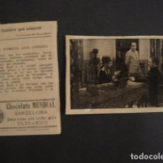 Cine: EL HOMBRE QUE ASESINO - COLECCION 18 CROMOS COMPLETA- CINE -CHOCOLATES MUNDIAL -VER FOTOS -(V-7617). Lote 67843805