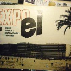 Cine: COLECCIONISTAS DE CINE CARTEL HOJA PUBLICACION REVISTA. PELICULA - EXPO EI 1988 . Lote 67859477