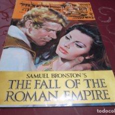 Cine: LA CAIDA DEL IMPERIO ROMANO (THE FALL OF THE ROMAN EMPIRE) - SAMUEL BRONSTON - PARAMOUNT. Lote 70194865