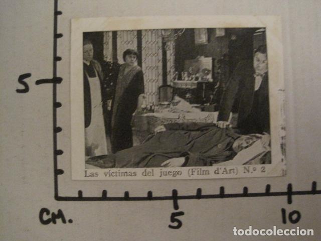Cine: LAS VICTIMAS DEL JUEGO - FILM D´ART -COLEC.COMPLETA 6 FOTOTIPIAS -MED 7X9 CM-VER FOTOS - (V-8469) - Foto 4 - 74066603