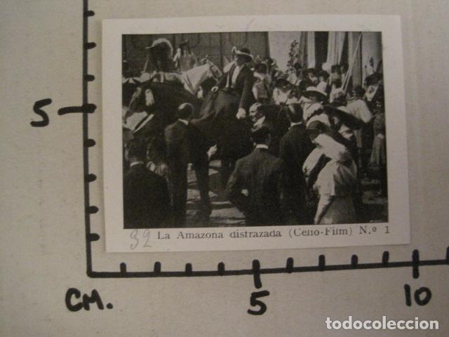 Cine: LA AMAZONA DISFRAZADA - CELIO FILM -COLEC.COMPLETA 6 FOTOTIPIAS -MED 7X9 CM-VER FOTOS - (V-8471) - Foto 4 - 74067471