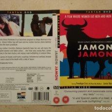 Cine: CARATULA ORIGINAL -A4 - JAMON JAMON - PENELOPE CRUZ - BIGAS LUNA. Lote 75391451