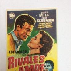 Cinéma: RIVALES POR AMOR. Lote 77872317