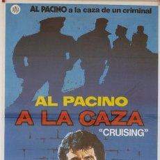Cinéma: PÓSTER DE CINE ORIGINAL: A LA CAZA. Lote 78868837