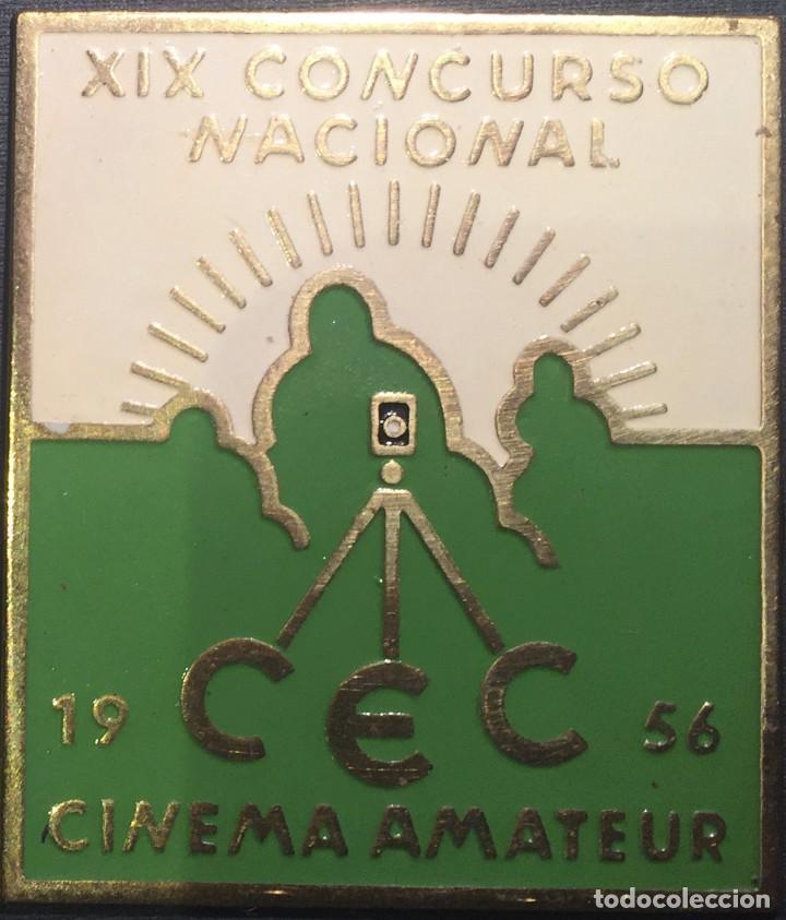 PLACA XIX CONCURSO NACIONAL DE CINEMA AMATEUR 1956 (Cine - Varios)