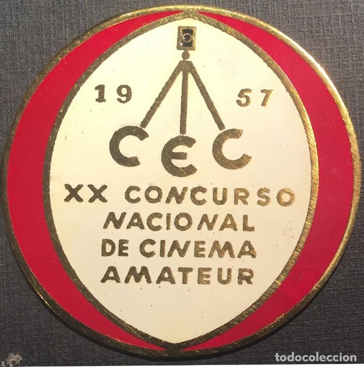 PLACA XX CONCURSO NACIONAL DE CINEMA AMATEUR 1957 (Cine - Varios)
