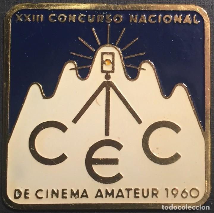 PLACA XXIII CONCURSO NACIONAL DE CINEMA AMATEUR 1960 (Cine - Varios)