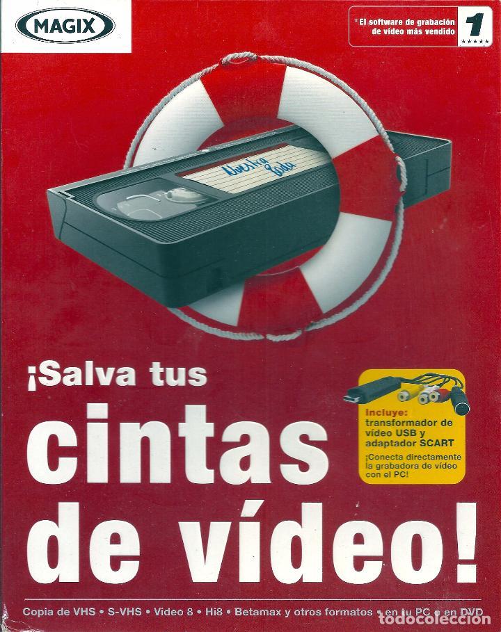 SOFTWARE DE GRABACION DE VIDEO (MAGIX).TODOS LOS FORMATOS DE VIDEO (VHS,BETAMAX,VIDEO 8, ETC) A DVD (Cine - Varios)
