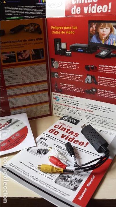 Cine: SOFTWARE DE GRABACION DE VIDEO (MAGIX).TODOS LOS FORMATOS DE VIDEO (VHS,BETAMAX,VIDEO 8, ETC) A DVD - Foto 2 - 83926256