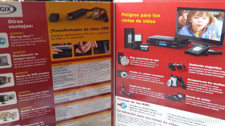 Cine: SOFTWARE DE GRABACION DE VIDEO (MAGIX).TODOS LOS FORMATOS DE VIDEO (VHS,BETAMAX,VIDEO 8, ETC) A DVD - Foto 3 - 83926256