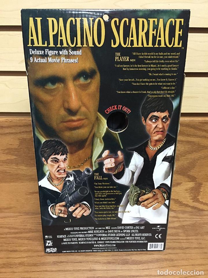 Cine: FIGURA DELUXE SCARFACE * Al Pacino / Tony Montana * Sonido: 9 frases! * Nueva en caja * Ultrarare - Foto 4 - 84599292
