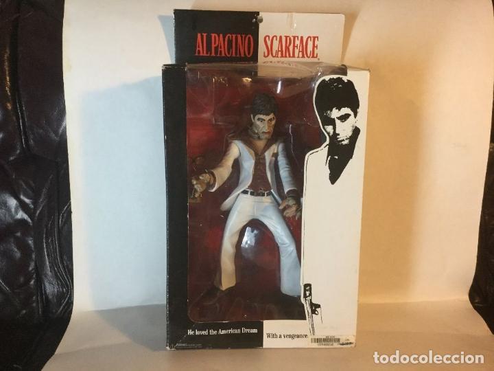 Cine: FIGURA DELUXE SCARFACE * Al Pacino / Tony Montana * Sonido: 9 frases! * Nueva en caja * Ultrarare - Foto 11 - 84599292